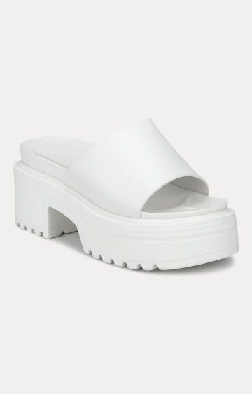 Truffle Collection | White Sandals