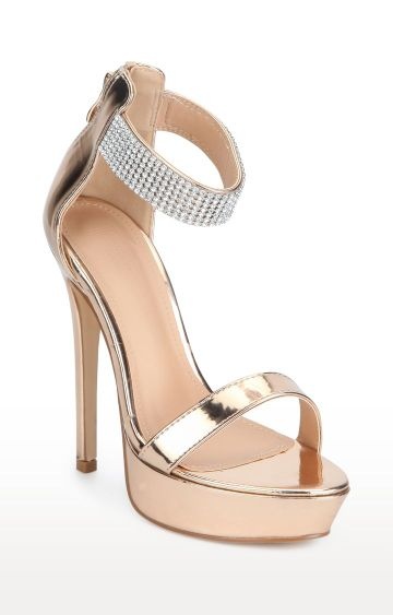 Truffle Collection | Rose Gold Stilettos