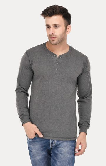 Weardo | Dark Grey Melange T-Shirt