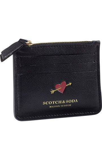 Scotch & Soda   LEATHER CARD HOLDE