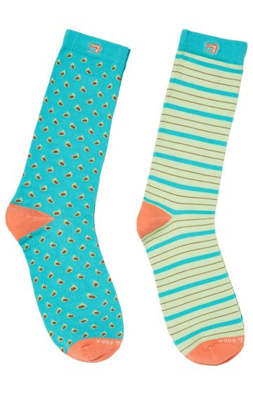 Scotch & Soda | Classic Socks In Bright Colors And Patte