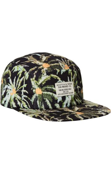 Scotch & Soda | SPORTY NYLON CAP WITH WOVEN LABEL
