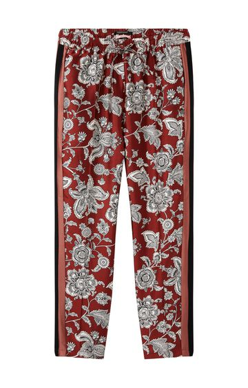 Scotch & Soda | TAPERED FIT PRINTED PANTS WITH CONTRAST