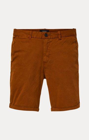 Scotch & Soda | Rust Solid Shorts