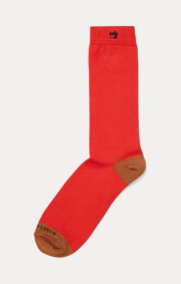 Scotch & Soda | Red Solid Socks