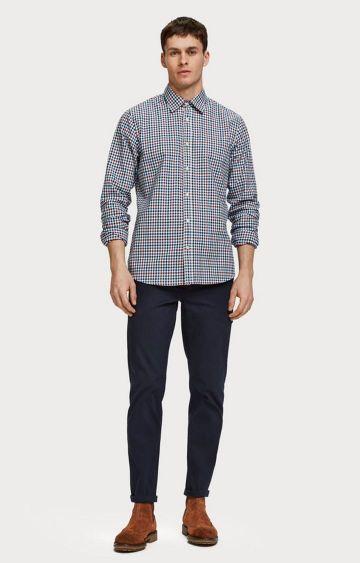Scotch & Soda | Checked Cotton Blend Shirt  Regular fit