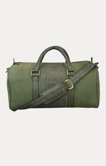 Walrus | Green Duffle Bag