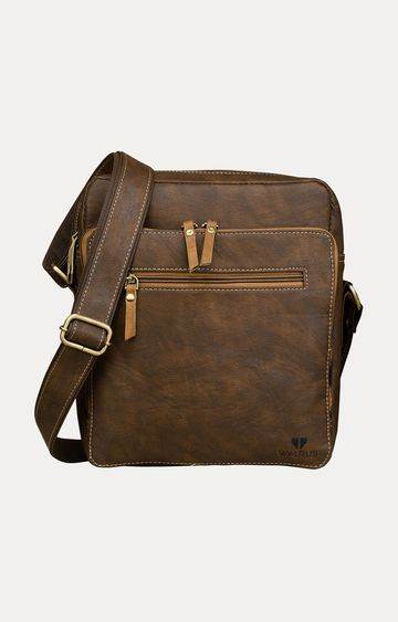 Walrus | Brown Messenger Bag