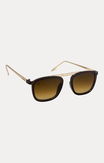 Walrus   Brown Rectangle Sunglasses