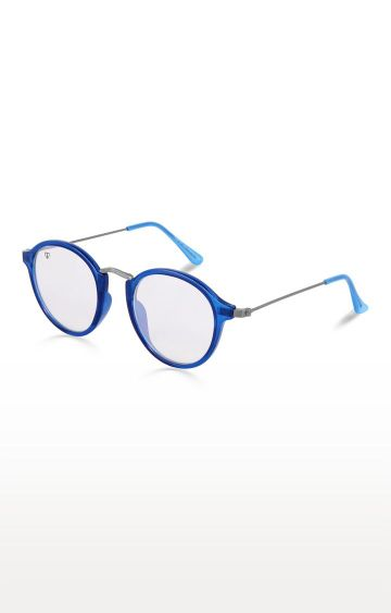 Walrus | Blue Round Sunglasses
