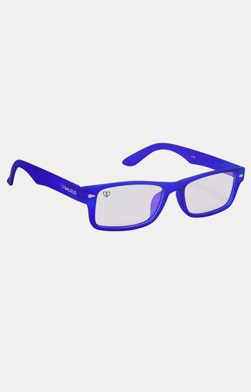 Walrus   Blue Rectangle Sunglasses