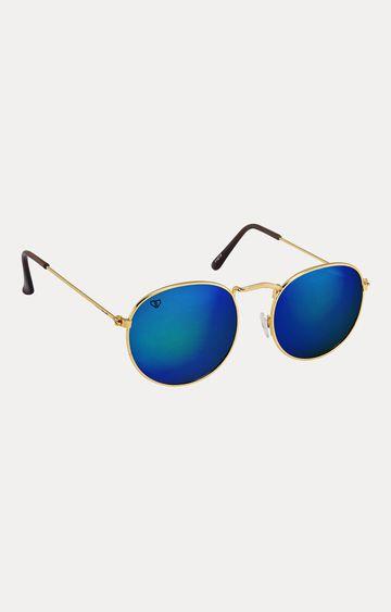 Walrus   Golden Oval Sunglasses
