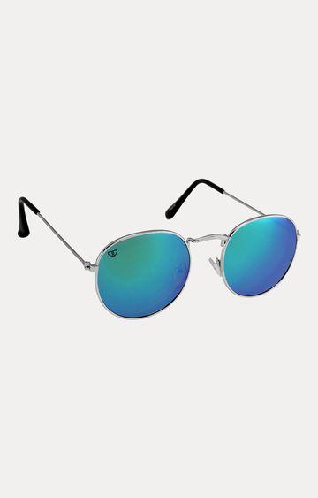 Walrus | Silver Oval Sunglasses