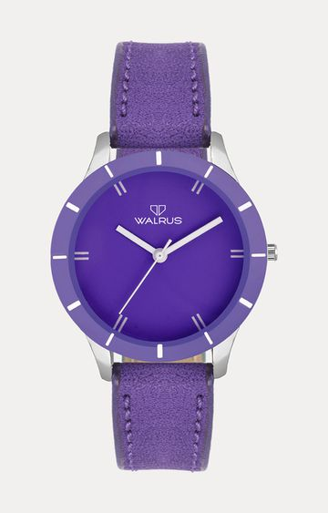Walrus | Purple Analog Watch
