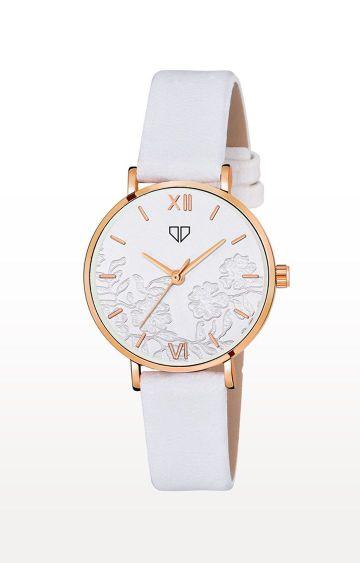 Walrus   White Venice Analog Function Premium Quality Trendy Watch