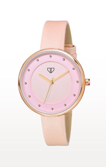 Walrus | Pink Venice III Analog Function Premium Quality Trendy Watch