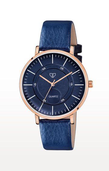 Walrus   Blue Venice IV Analog Function Premium Quality Trendy Watch