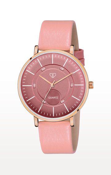 Walrus   Pink Venice IV Analog Function Premium Quality Trendy Watch
