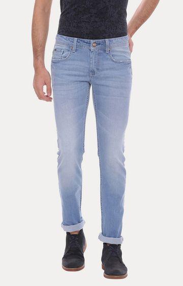 Basics   Blue Straight Jeans