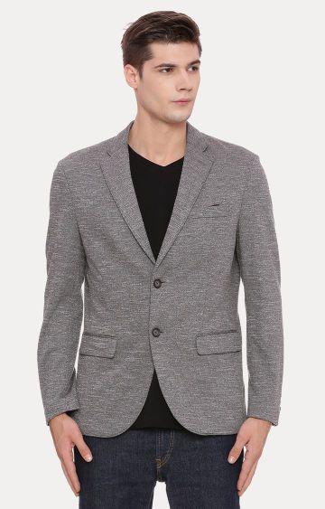 Basics | Dark Grey Melange Blazer