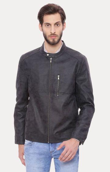 Basics | Dark Grey Solid Jacket