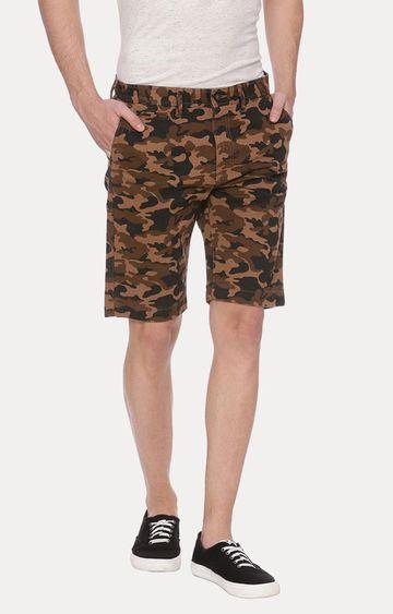 Basics | Khaki Camouflage Shorts