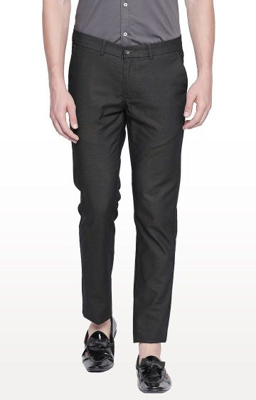 Basics | Dark Grey Tapered Chinos