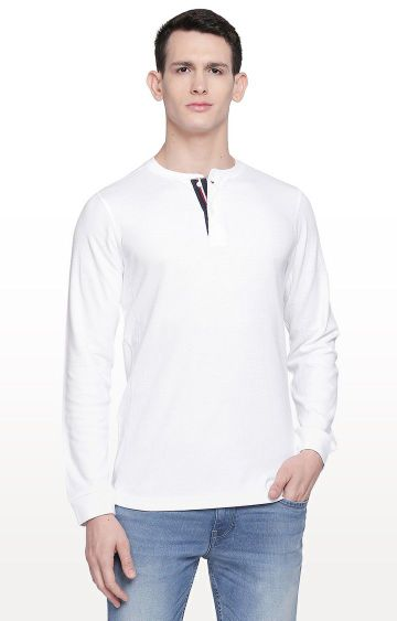 Basics | White Solid T-Shirt