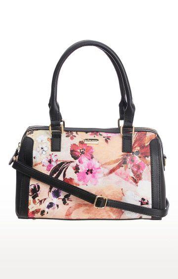SATYA PAUL   Black Handbag