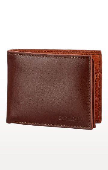 SATYA PAUL | Brown Leather Wallet