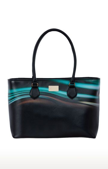 SATYA PAUL | Black Handbag