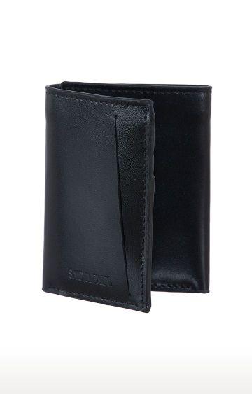 SATYA PAUL | Black Wallet