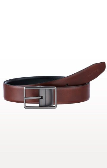 SATYA PAUL | Brown Leather Belt