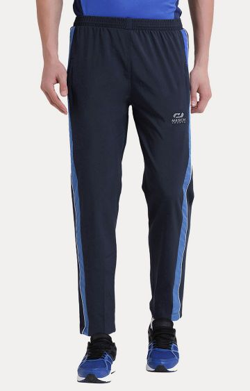 Masch Sports | Navy Solid Trackpants