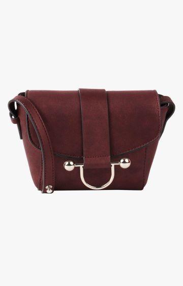 STEVE MADDEN   Burgundy Sling Bag