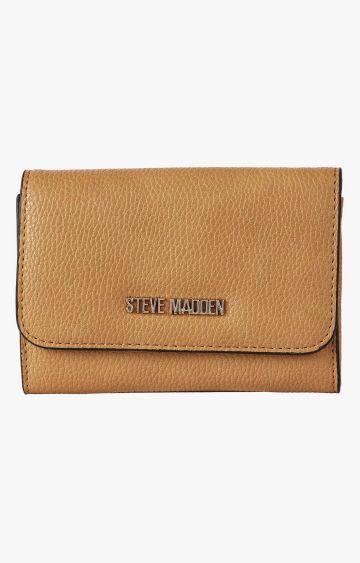STEVE MADDEN   Camel Wallet