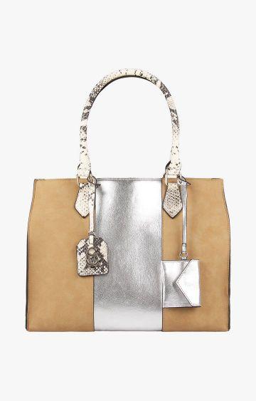 STEVE MADDEN   Beige Handbag