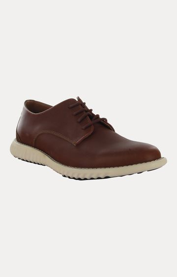 STEVE MADDEN   Tan Casual Lace-up Shoes