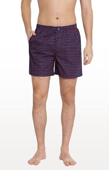 Crimsoune Club | Navy Printed Boxers