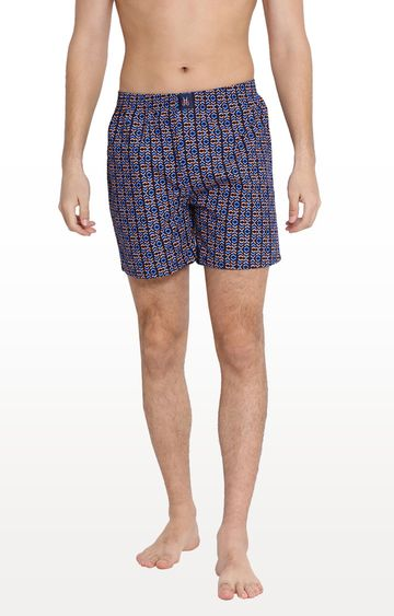 Crimsoune Club | Blue Printed Boxers