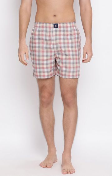 Crimsoune Club | Multicoloured Checked Boxers