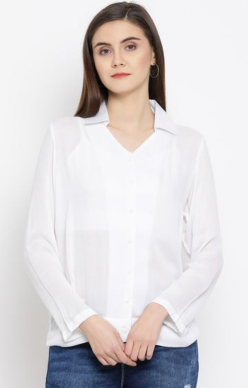Crimsoune Club | White Solid Top