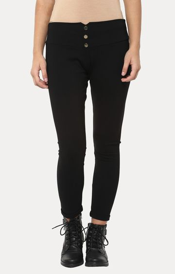 Crimsoune Club | Black Jeggings