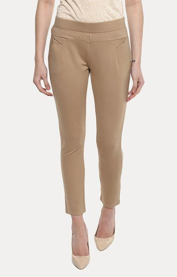 Crimsoune Club | Khaki Jeggings