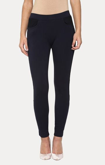 Crimsoune Club | Navy Blue Jeggings