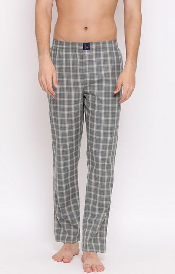Crimsoune Club | Green Checked Trackpants