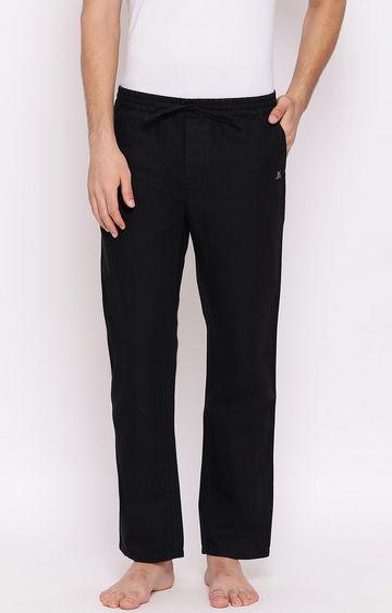 Crimsoune Club | Black Solid Trackpants