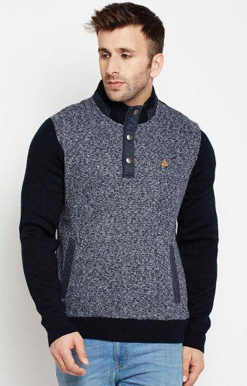Crimsoune Club | Navy Melange Sweatshirt