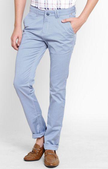 Crimsoune Club   Blue Straight Trousers