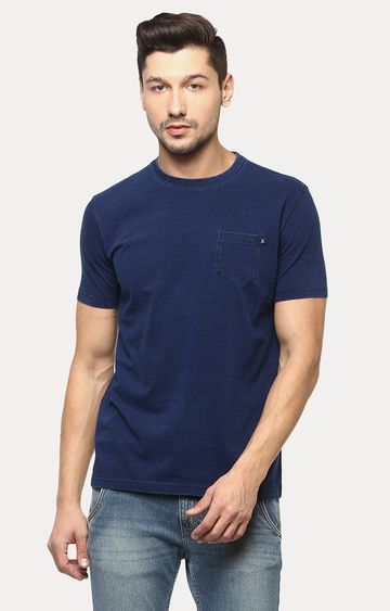 Crimsoune Club | Navy Melange T-Shirt